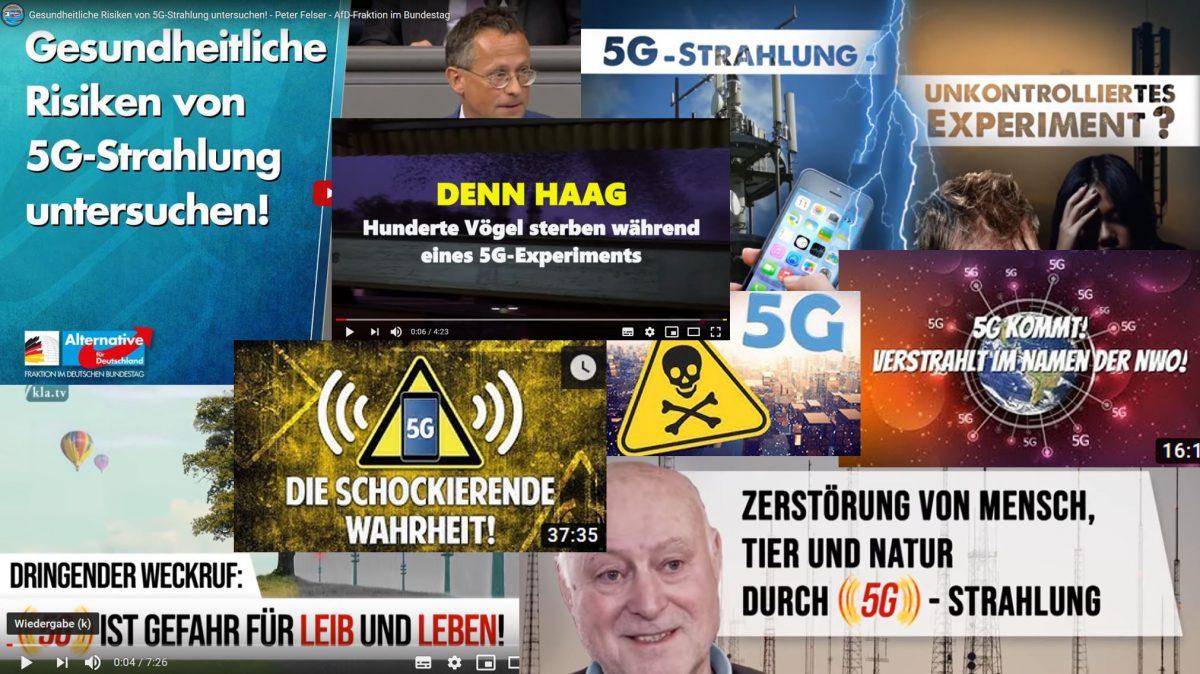 5G-Mobilfunk und die Party der Verschwörungs-Schwurbler